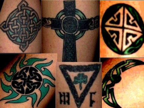 celtic heart knot work tattoos meaning