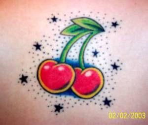 cherry-and-star-tattoos