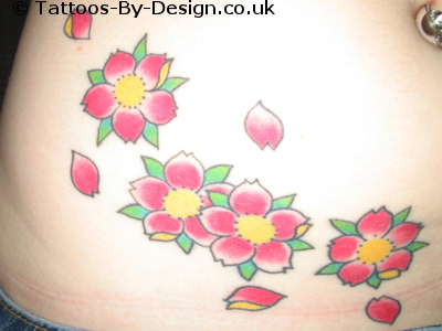 cherry blossoms tattoos