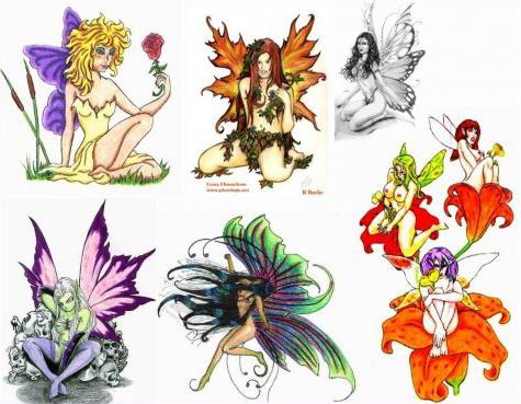 Colorful Fairy Tattoos – Tattoo designs… colorful fairy tattoos Munace,