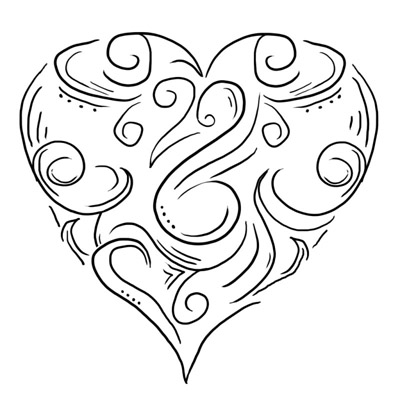 Click here for our designs of Heart tattoos – start page.