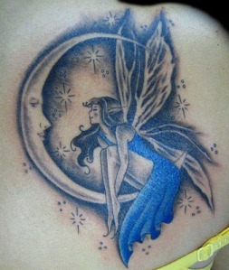 fairy-and-moon-tattoos