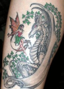 fairy-dragon-tattoos