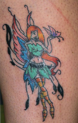 Fairy Tattoos, Fairy Tattoo Designs, Tattoos Fairies, Tribal Fairy Tattoos,