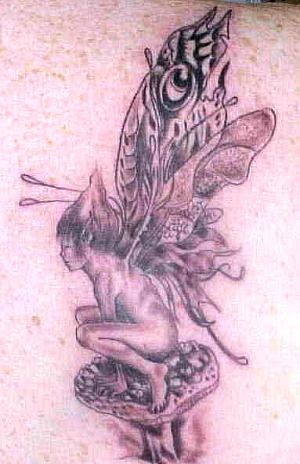 Bad Tattoos Tattoo Galleries: Fairy design