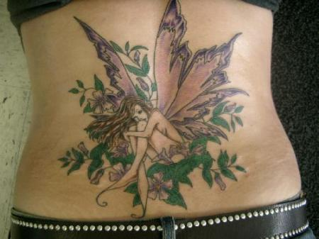 Are you Fairy Butterfly Flower Tattoos addicted? If your answer is yes, then welcome to tattoos-beauty.com. We have seen so many girls and ladies love to
