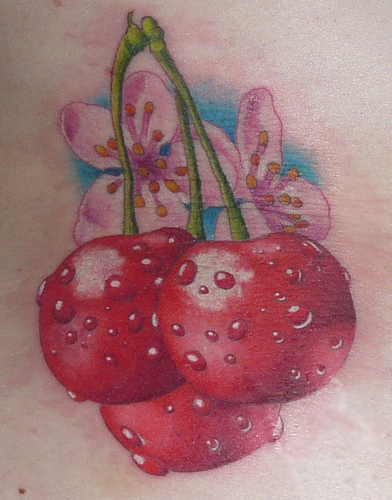 cherry tattoos pictures