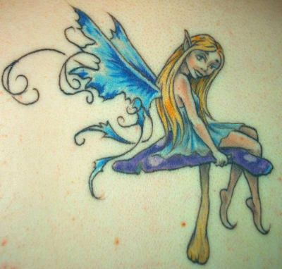 cute fairy tattoos