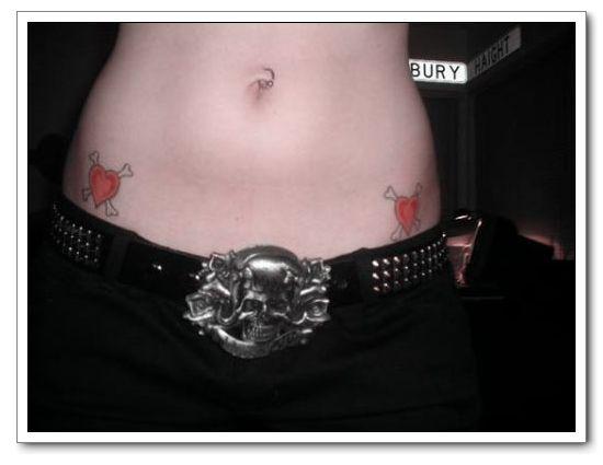Cute Heart Tattoo Designs: Girl Tattoos Designs Photos