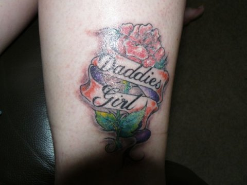 daddys girl tattoos