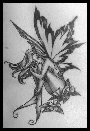 fairy tattoos tribal