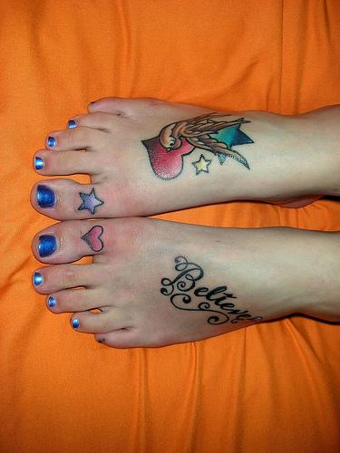 feminine zodiac tattoos