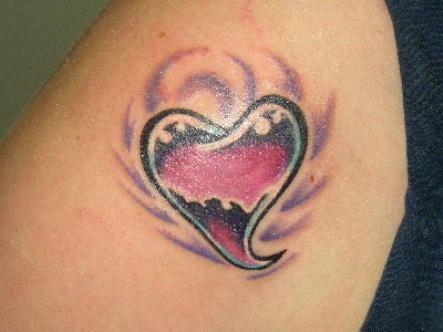 Heart Tattoos | Free Printable Flash Tattoo