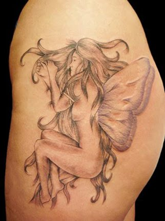 free pictures of evil fairy tattoos