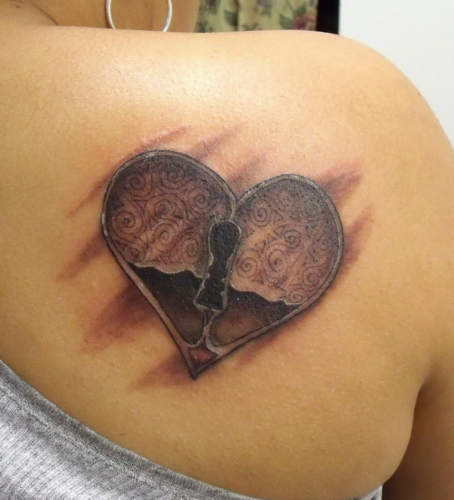 Tattoo Designs Heart: Girl Tattoos Design