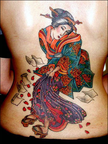 japanese girl tattoos