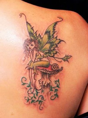lower back fairy tattoos