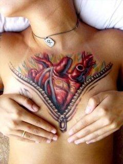 Open Heart Tattoo