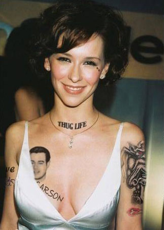 photographs of celebrity tattoos