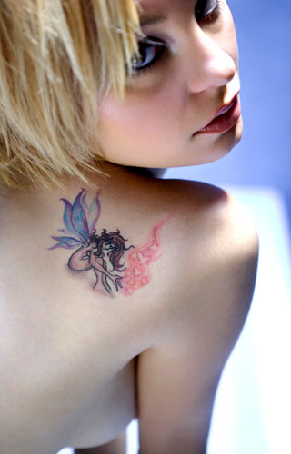 scary fairy tattoos